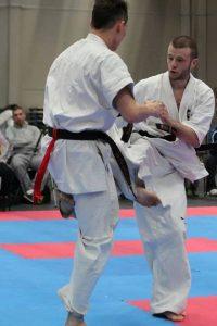 Karaté Kyokushinkai Kumite Thomas Euzenat