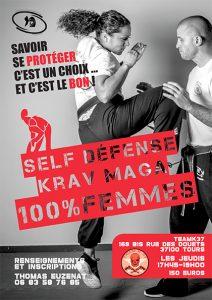 Krav maga self defense femme