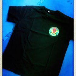 T-shirt Noir Team K 37 face