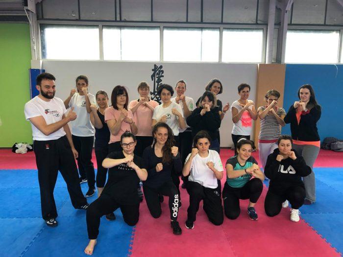 Stage Krav Maga Femmes TEAM K 37 le 08/03/2020